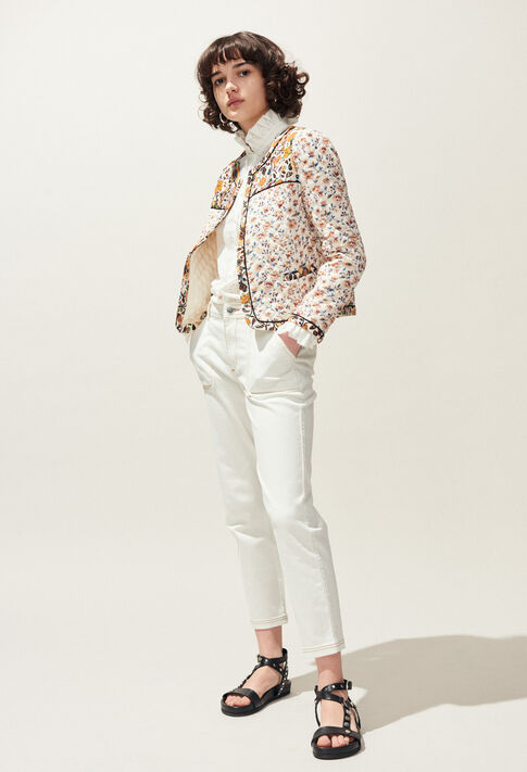 COLOMBE BRODEE : Tops & Shirts color Ecru