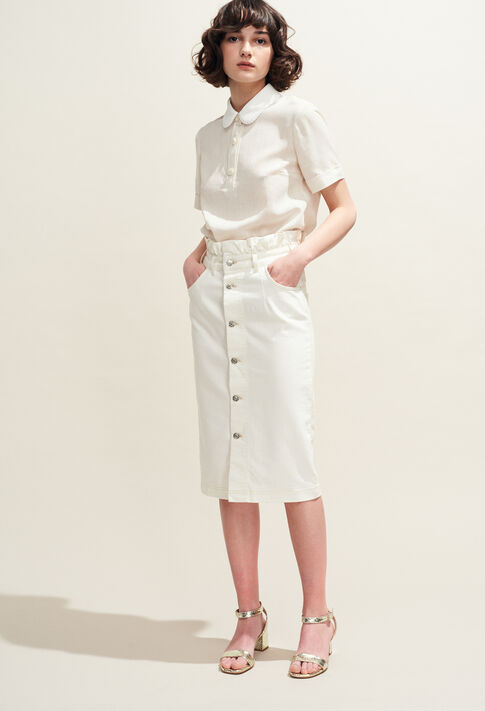 SILVER : Skirts & Shorts color Ecru