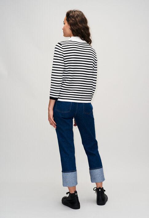MYPOPYH19 : Maille & Sweatshirts couleur MARINE