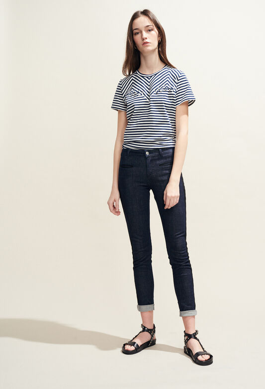 PAOLINE : Jeans & Pants color Jean