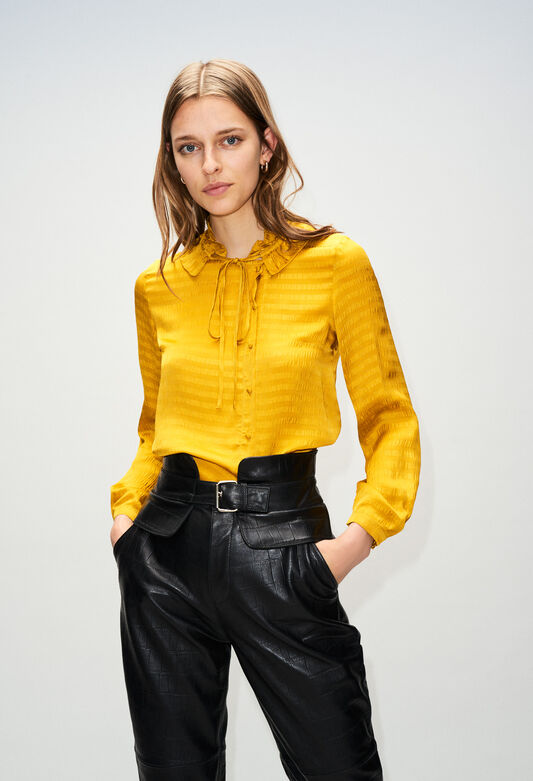 BERTILLAH19 : Oberteile & Hemden farbe SAFRAN
