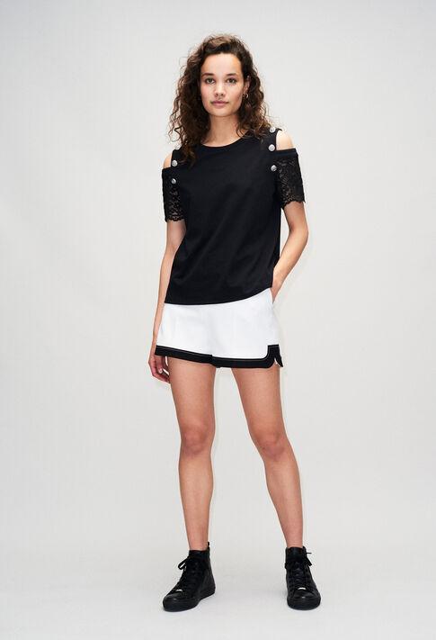 TRENDYH19 : T-Shirts farbe NOIR