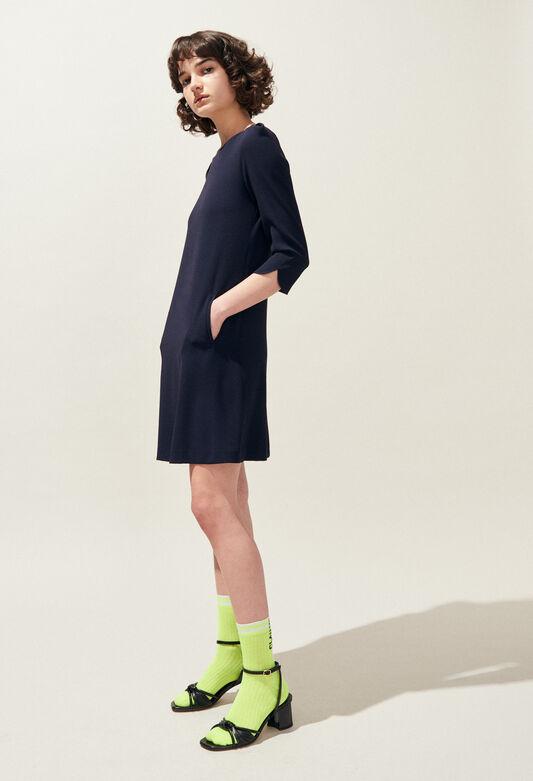 RICHA : Dresses color Navy