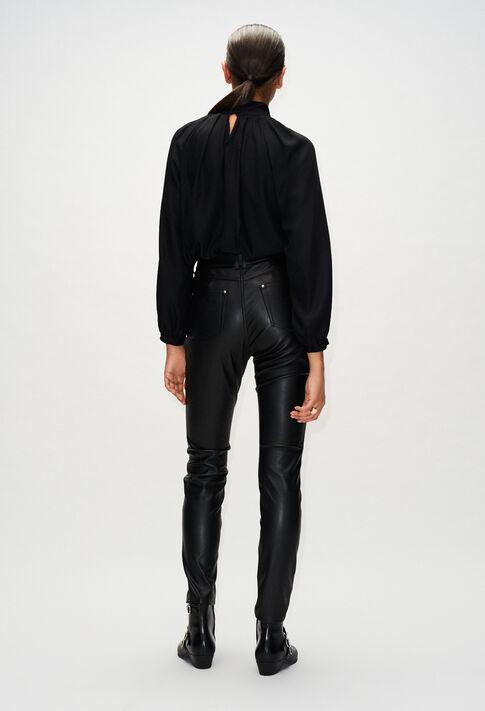 PANAMEH19 : Pantalons et Jeans couleur Noir