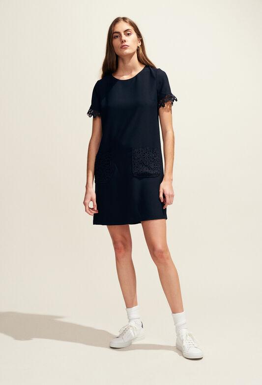 REEVES : Kleider farbe MARINE