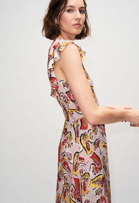 RAVENEH19 : Robes couleur PRINT