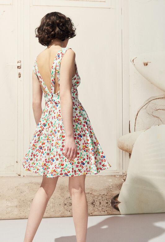 RENCONTRE FLEURS : Kleider farbe MULTICO