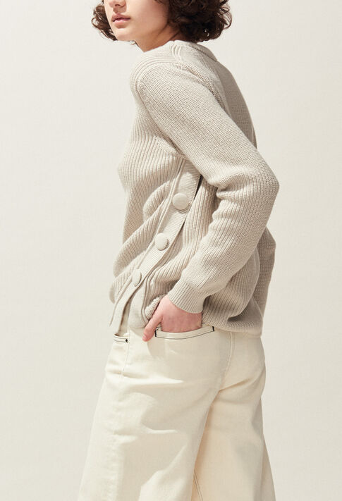 MABOUCLE : Knitwear & Cardigans color Off White