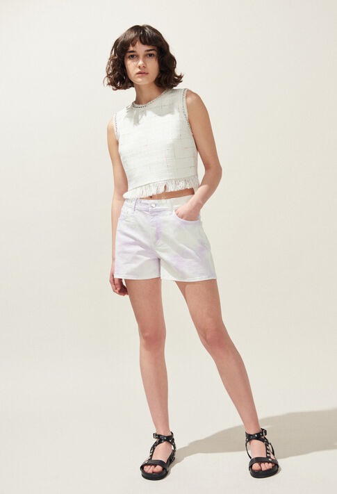 ELLIPSE : Röcke & Shorts farbe Lilas