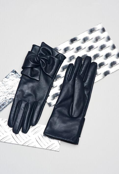 AMELIAH19 : Mützen und Handschuhe farbe Marine