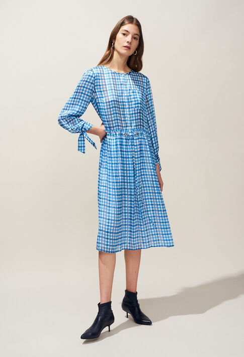 REINETTE : Dresses color Bleuet