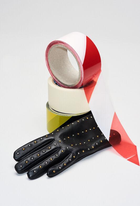 APOCALYPSEH19 : Bonnets et gants couleur NOIR