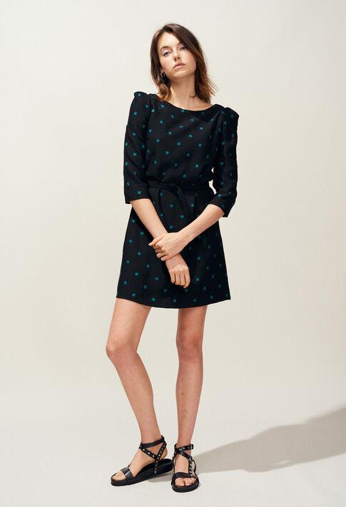 RICIN : Kleider farbe Noir