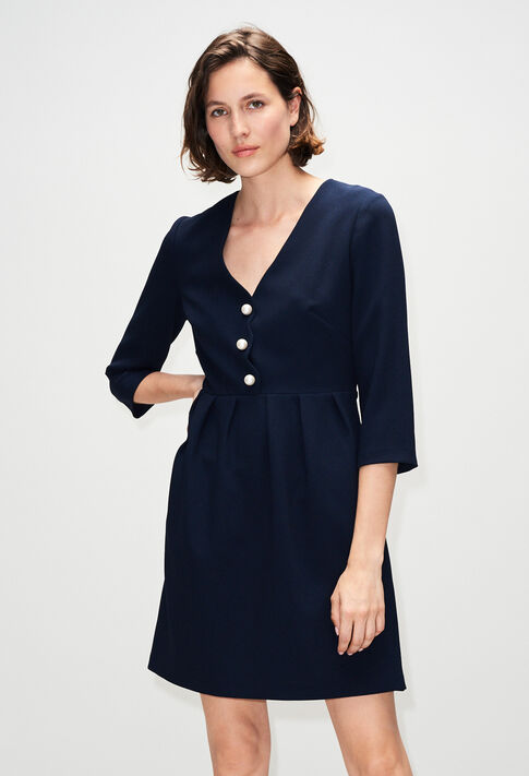 RAFIAH19 : Kleider farbe MARINE