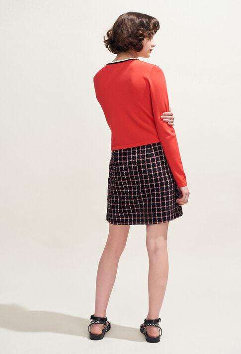 MAXIRED : Knitwear & Cardigans color Ecarlate