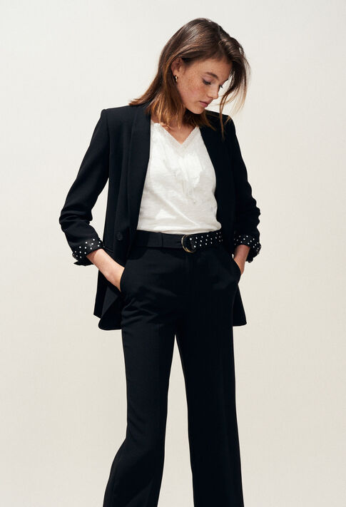 VOILE : Blazers color Black