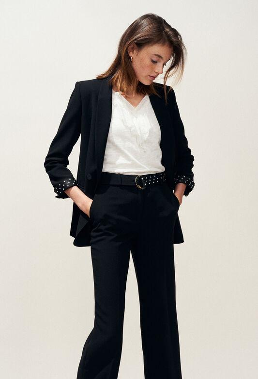 VOILE : Blazers color Black