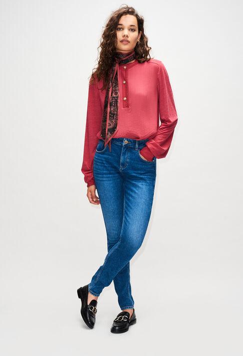 PYROSH19 : Pantalons et Jeans couleur JEAN