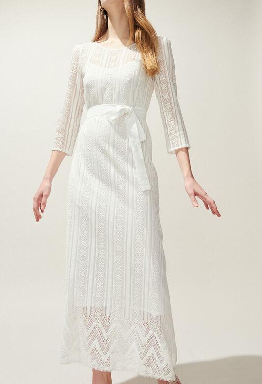 RAZACK : Dresses color Ecru