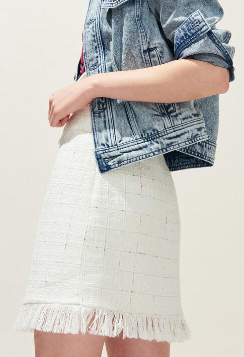 SOURIRE : Skirts & Shorts color Ecru