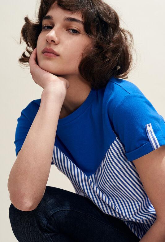 TATUM : T-Shirts farbe INDIGO