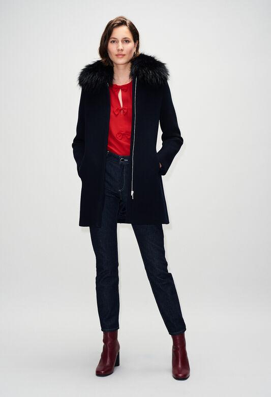 GILLESBISH19 : Coats & Jackets color NAVY